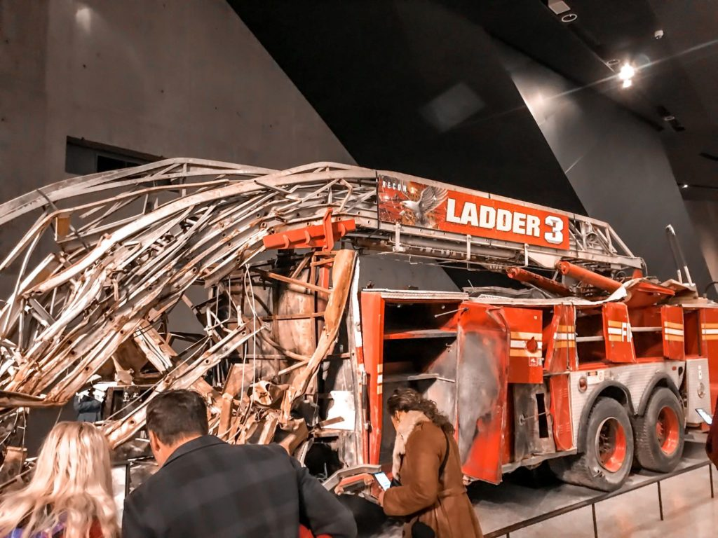 new york fire engine, 9/11, Christmas in New York: 4-day itinerary
