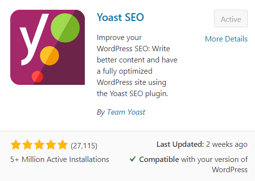 What are the best FREE WordPress Plugins for Bloggers - Yoast - most popular WordPress plugins for bloggers