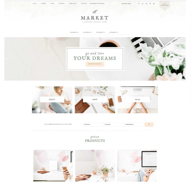 Market theme by Restored 316