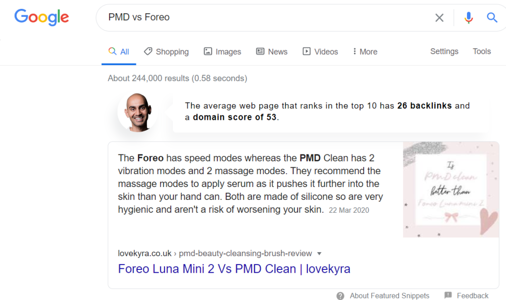 Keyword Research for SEO for free