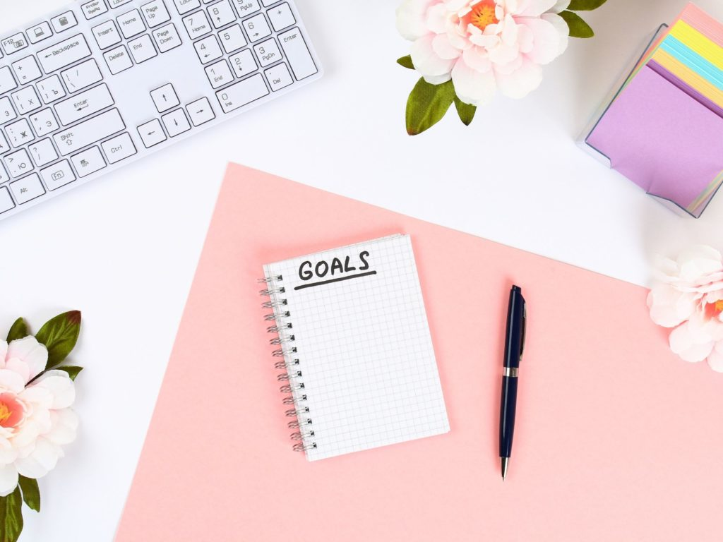 Start by creating goals for yourself. The best place to start is with your end goal first and then you can work your way backward.