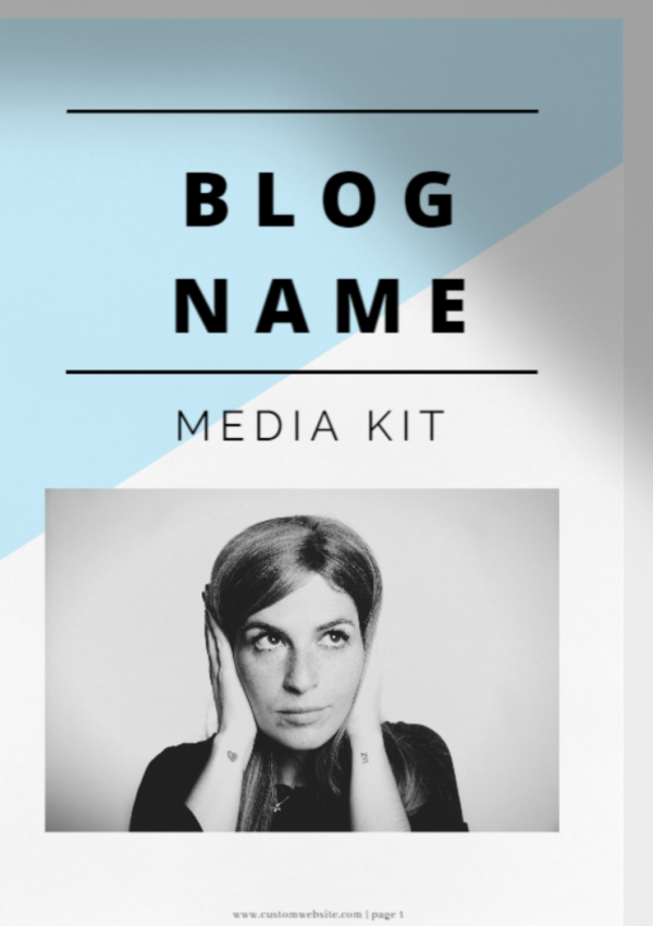 Build a killer Influencer Media Kit: FREE TEMPLATE