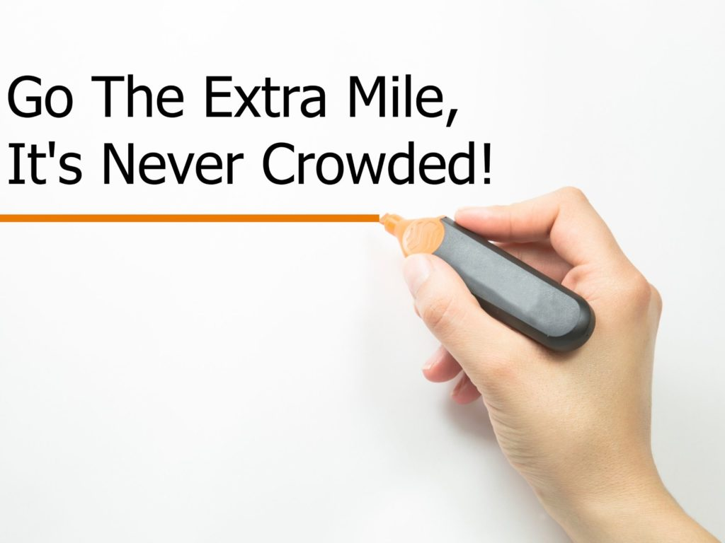 go the extra mile and include more content with your blog posts to make then successful.