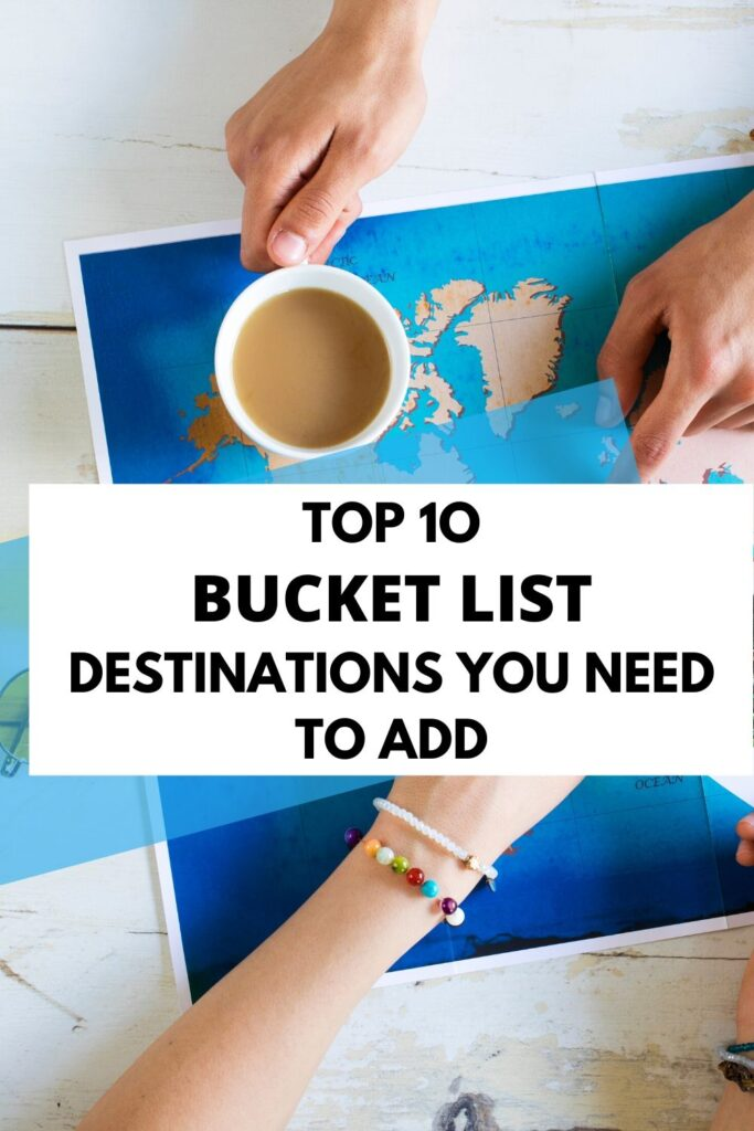 Travelling as a family, with your partner or alone is such an exciting thing. I have been doing some research for a long time now and I have come up with a list of the most amazing bucket list ideas for you to add to yours. - beautiful places to visit before you die