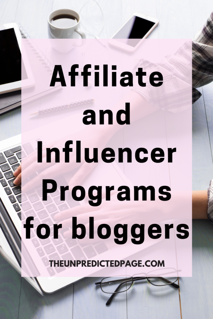 Best Influencer programs for lifestyle bloggers