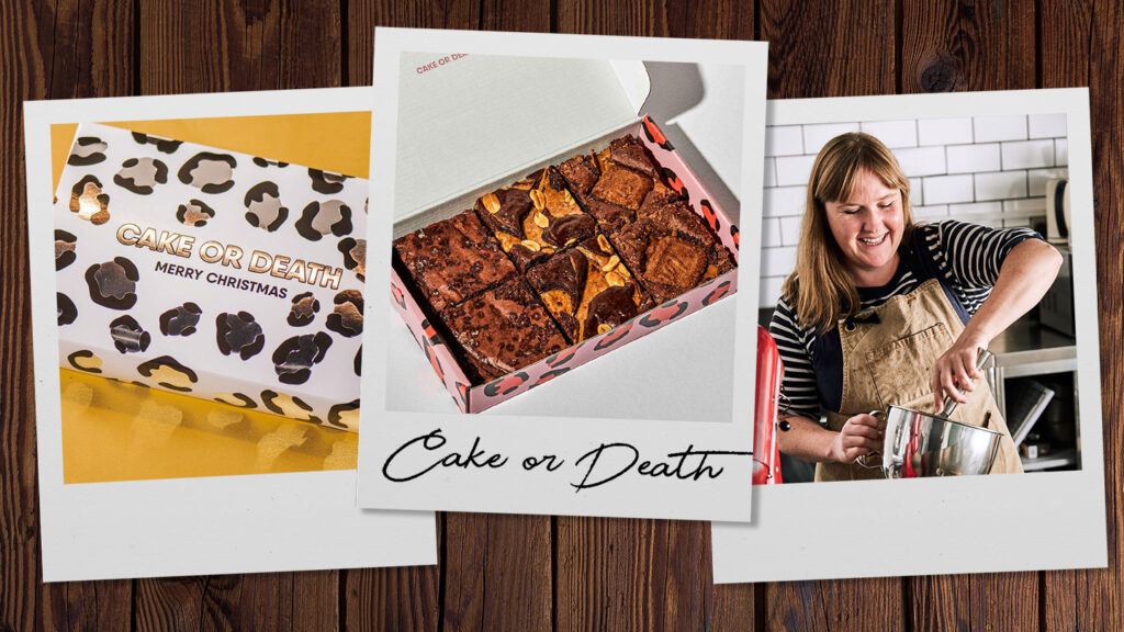 The Cake or Death bakery in East London's created some of the UK's most loved brownies – and they also happen to be vegan, which means they are good for you and the planet