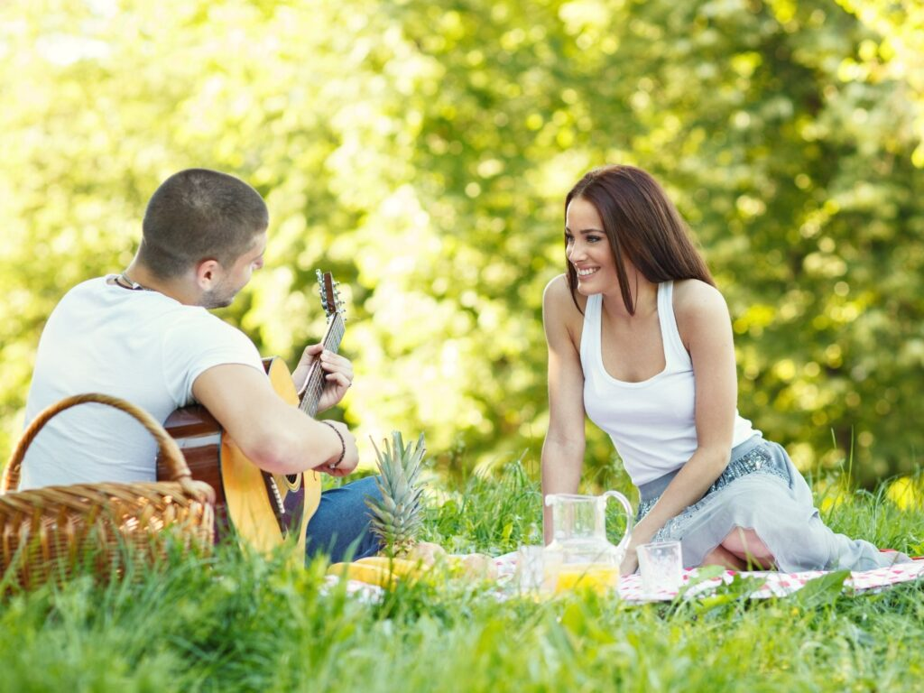 Have a socially distanced picnic date during a pandemic