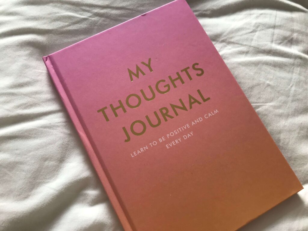 self appreciation journal to write summer affirmations